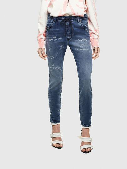 Diesel - Krailey JoggJeans 069LW, Dunkelblau - Jeans - Image 1