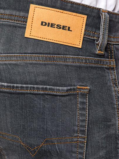 Diesel - Sleenker 009DJ, Schwarz/Dunkelgrau - Jeans - Image 4