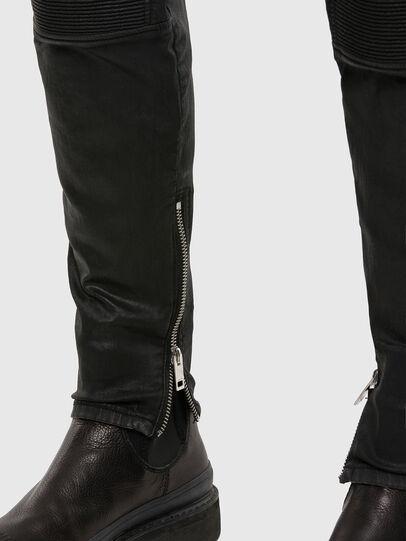 Diesel - D-Derrot JoggJeans® 069QY, Schwarz/Dunkelgrau - Jeans - Image 5