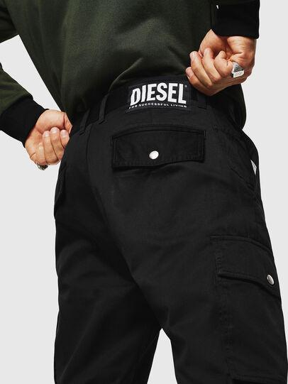 Diesel - P-JARED-CARGO, Schwarz - Hosen - Image 3