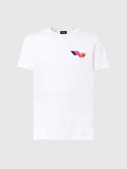 Diesel - T-DIEGOS-K11, Weiß - T-Shirts - Image 4