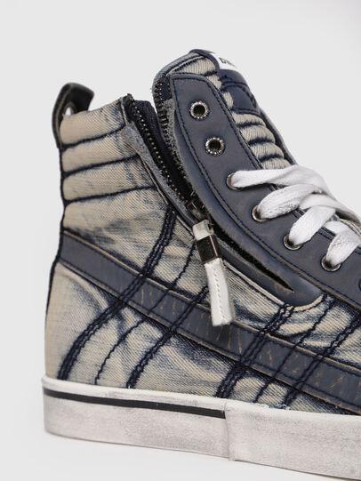 Diesel - D-VELOWS MID LACE, Jeansblau - Sneakers - Image 4