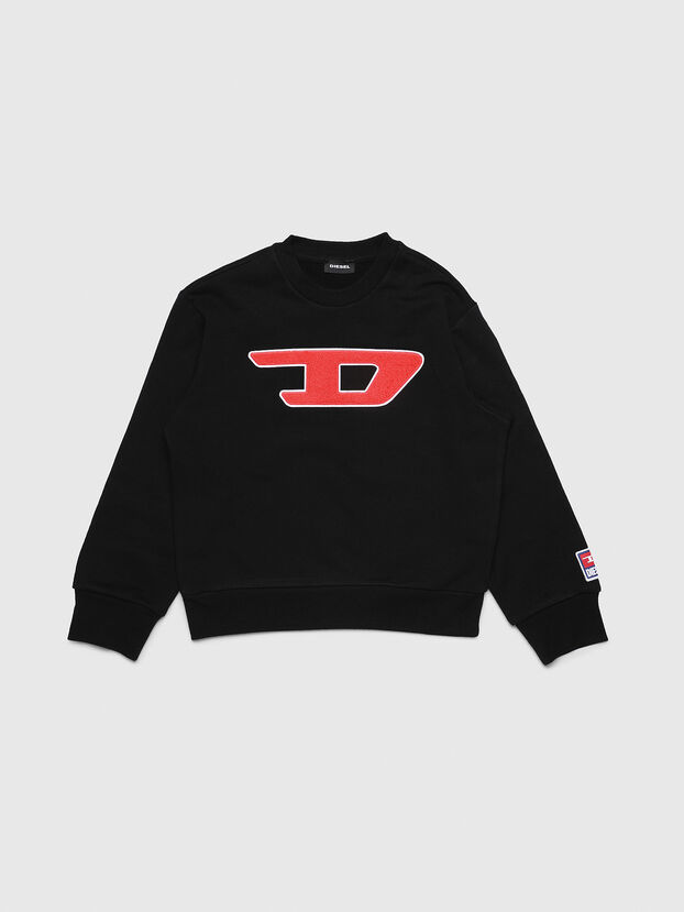 SCREWDIVISION-D OVER, Schwarz - Sweatshirts