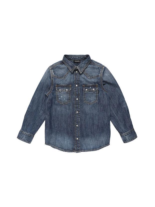 CLEO, Mittelblau - Hemden