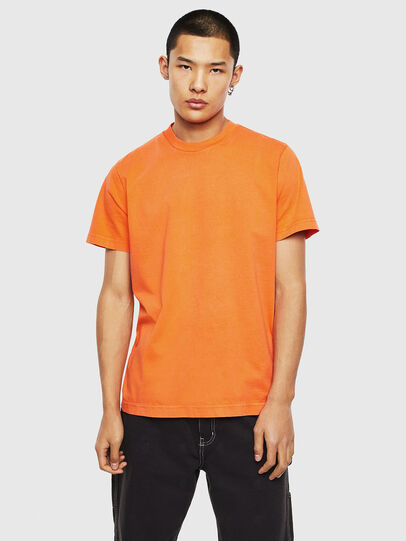 Diesel - T-THURE, Orange - T-Shirts - Image 1