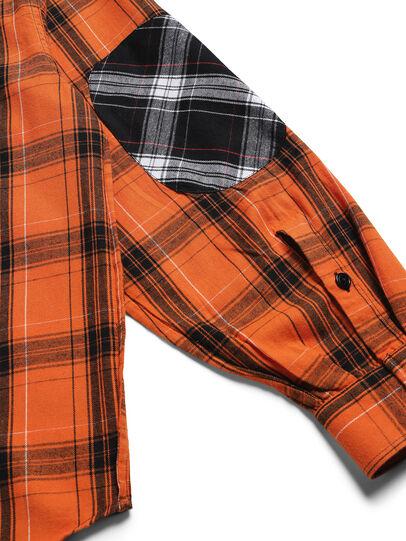 Diesel - D-ANORACHECK, Orange - Hemden - Image 5