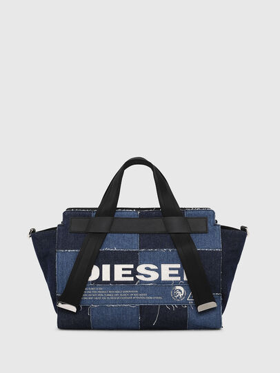 Diesel - F-CAORLY SATCHEL M, Blau - Satchel Bags und Handtaschen - Image 1