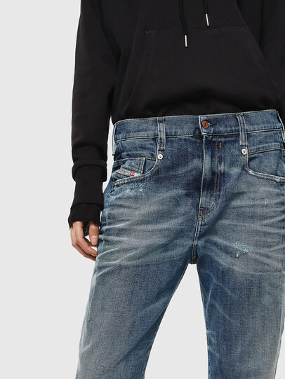 Diesel - Fayza 0890Y, Mittelblau - Jeans - Image 3