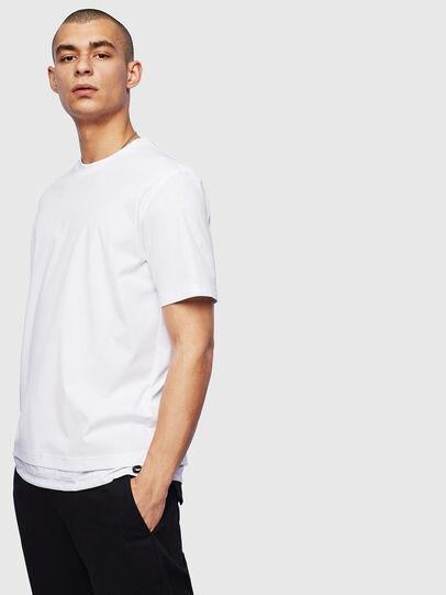 Diesel - T-GLASSY, Weiß - T-Shirts - Image 1