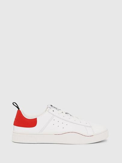 Diesel - S-CLEVER LOW, Weiß/Rot - Sneakers - Image 1