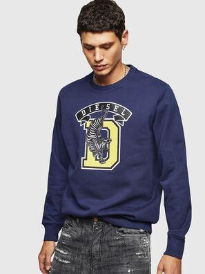 S-GIR-B1, Blau - Sweatshirts