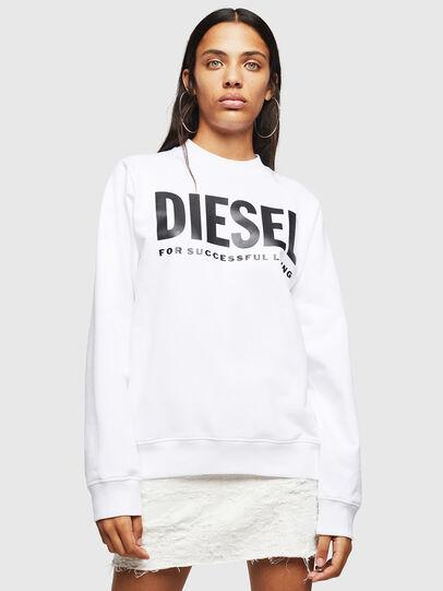 Diesel - F-ANG, Weiß - Sweatshirts - Image 1