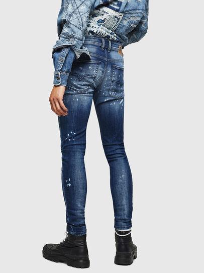 Diesel - Sleenker 0091Y, Mittelblau - Jeans - Image 2
