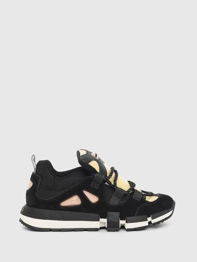 Diesel - H-PADOLA SL W, Schwarz/Gelb - Sneakers - Image 1