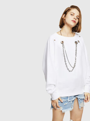 F-HENNY-B, Weiß - Sweatshirts