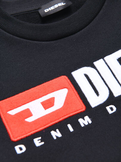 Diesel - SCREWDIVISION OVER, Schwarz - Sweatshirts - Image 3