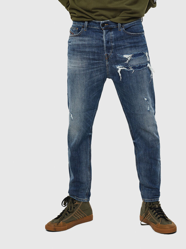 D-Vider 0890X, Mittelblau - Jeans