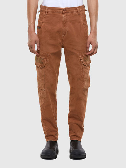 Diesel - D-Krett JoggJeans® 069RJ, Hellbraun - Jeans - Image 1