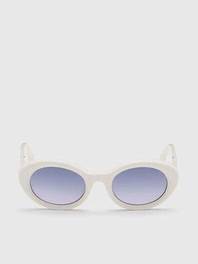 Diesel - DL0281, Weiß - Sonnenbrille - Image 1