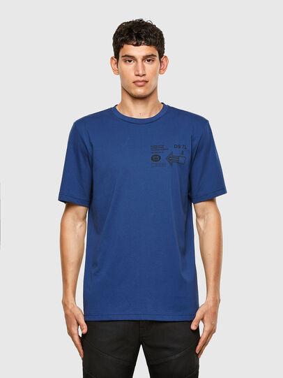 Diesel - T-JUST-A39, Blau - T-Shirts - Image 1