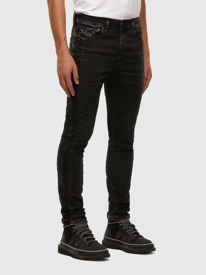 Diesel - D-REEFT JoggJeans® 009FY, Schwarz/Dunkelgrau - Jeans - Image 6