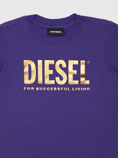 Diesel - TJUSTLOGOB-FL ML-R, Violett - T-Shirts und Tops - Image 3
