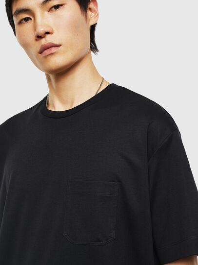 Diesel - T-TIGE, Schwarz - T-Shirts - Image 3