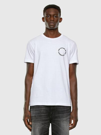 Diesel - T-DIEGOS-X46, Weiß - T-Shirts - Image 5