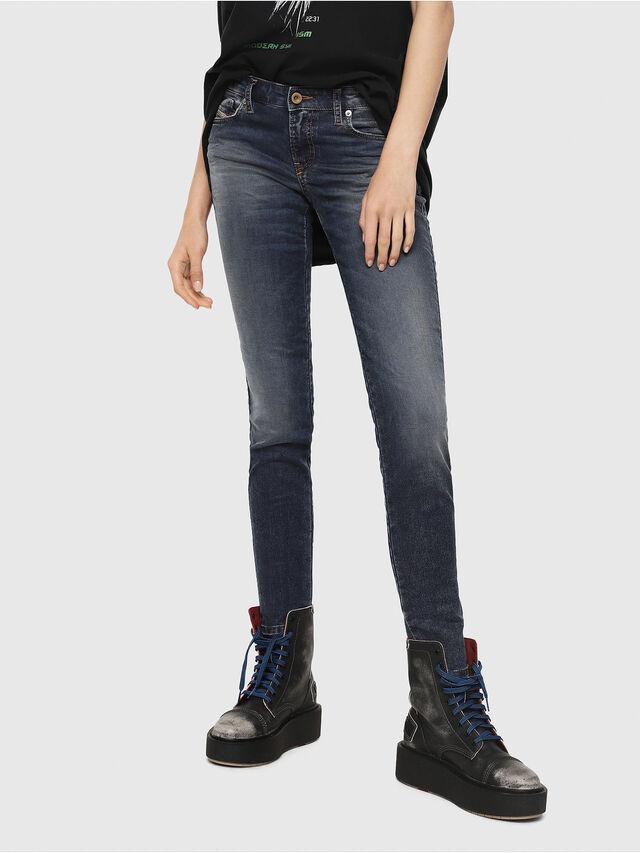 Diesel - Gracey JoggJeans 069FG, Dunkelblau - Jeans - Image 1