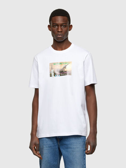Diesel - T-JUST-A34, Weiß - T-Shirts - Image 1