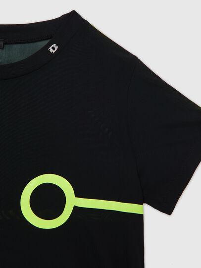 Diesel - UFTEE-ROUNDFEM-M, Schwarz - T-Shirts - Image 3