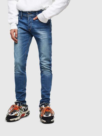 Diesel - Sleenker CN053, Mittelblau - Jeans - Image 1
