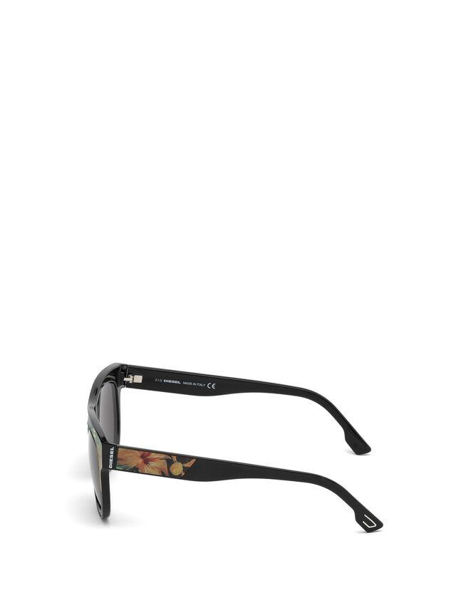Diesel - DM0160, Schwarz/Orange - Sonnenbrille - Image 3