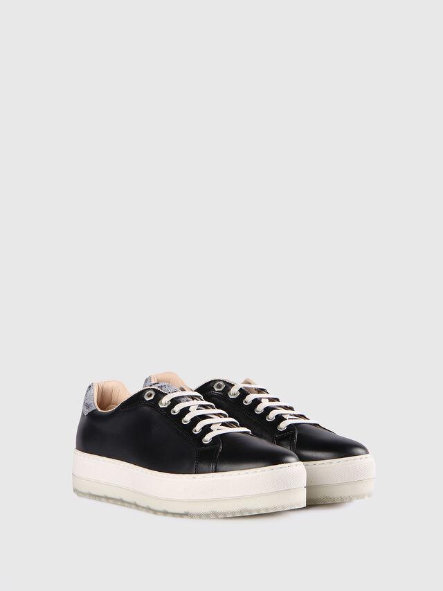 Diesel - S- ANDYES W, Schwarz/Silber - Sneakers - Image 2