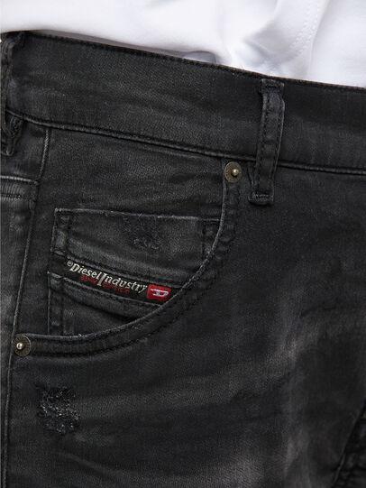 Diesel - KRAILEY JoggJeans® 069QL, Schwarz/Dunkelgrau - Jeans - Image 4