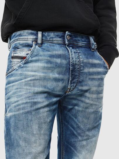 Diesel - Krooley JoggJeans 087AC, Mittelblau - Jeans - Image 3