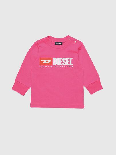 Diesel - TJUSTDIVISIONB ML, Fuchsie - T-Shirts und Tops - Image 1