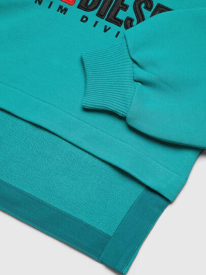 Diesel - SDINIEA, Wassergrün - Sweatshirts - Image 3
