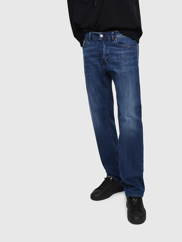Waykee 082AZ, Dunkelblau - Jeans