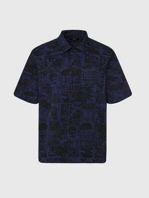 S-ROHAD-B, Schwarz/Blau - Hemden