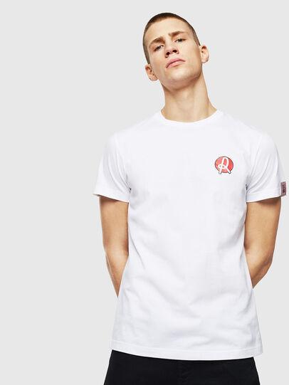 Diesel - LR-T-DIEGO-VIC, Weiß - T-Shirts - Image 1