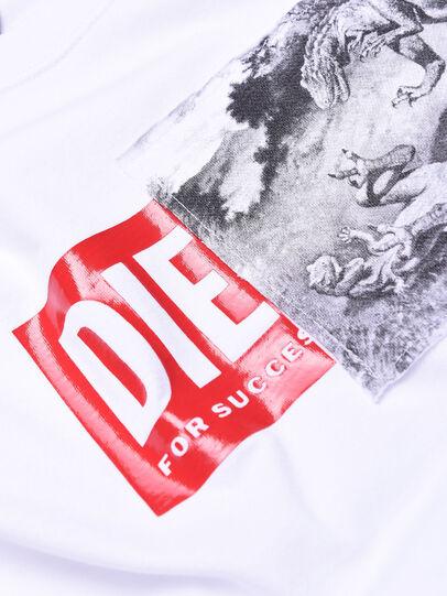 Diesel - TJUSTXH, Weiß - T-Shirts und Tops - Image 3