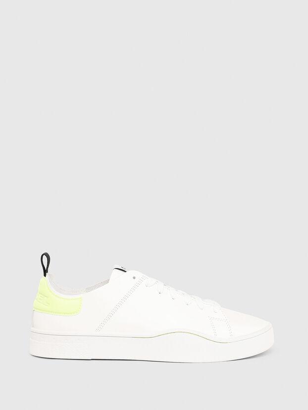 S-CLEVER LS, Weiß/Gelb - Sneakers