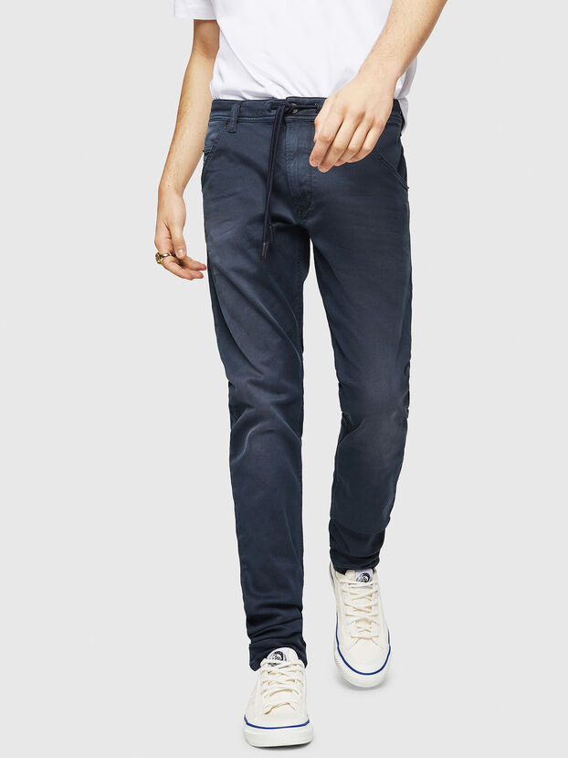 Krooley Long JoggJeans 0670M, Dunkelblau - Jeans