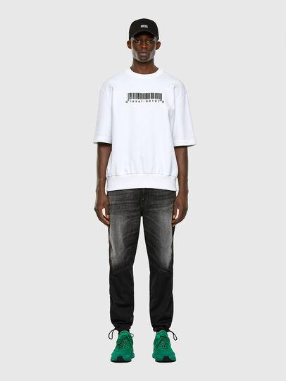 Diesel - S-COOLING-X10, Weiß - Sweatshirts - Image 4