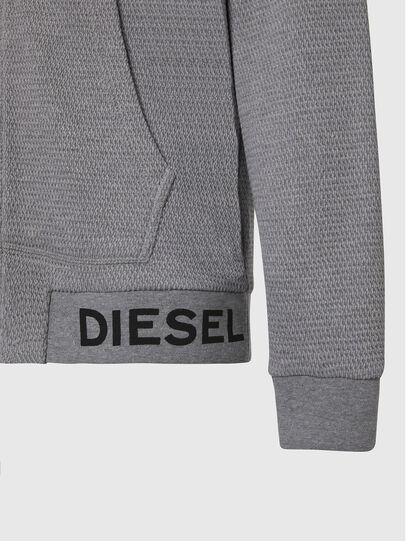 Diesel - S-ELECTRUM, Hellgrau - Sweatshirts - Image 3