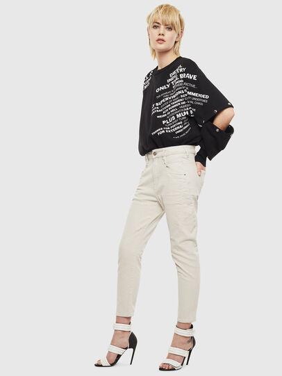 Diesel - Fayza 009BX, Schmutziges Weiß - Jeans - Image 6