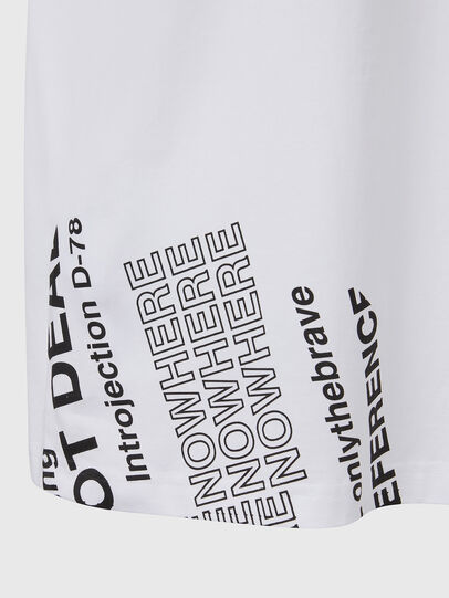 Diesel - T-JUST-FOLDED, Weiß - T-Shirts - Image 5