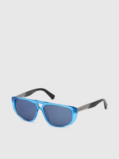 Diesel - DL0306, Blau/Schwarz - Kid Brillen - Image 2