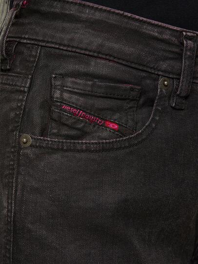 Diesel - D-Joy 009DU, Schwarz/Rosa - Jeans - Image 4